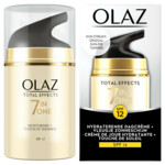 4x Olaz Total Effects Dagcrème Touch of Sunshine Light SPF 12  50 ml