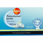 Roter Paracetamol 250 mg Junior