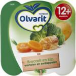 Olvarit Peutermenu 12m Broccoli Kip Wortelen Aardappelen