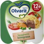Olvarit Peutermenu 12m Spaghetti Bolognese