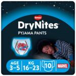 DryNites Absorberende Luierbroekjes Boy 3-5 jaar
