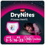 DryNites Absorberende Luierbroekjes Girl 3-5 jaar