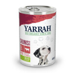 Yarrah Bio Brokjes In Saus Hondenvoer Rund-Tomaat