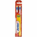 Jordan Tandenborstel Total Clean Soft 2-pack  2 stuks