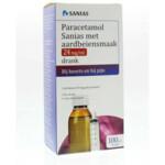 Pinex Paracetamol Aarbeiensmaak