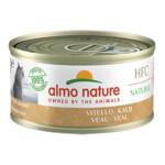 24x Almo Nature HFC 70 Kat Natural Kalfsvlees