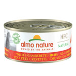 Almo Nature HFC 70 Kat Natural Kip - Garnaal
