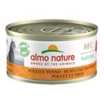 Almo Nature HFC 70 Kat Natural Kip - Tonijn