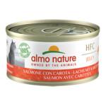 24x Almo Nature HFC 70 Kat Natural Zalm - Carrot