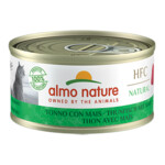 Almo Nature HFC 70 Kat Natural Tonijn - Mais