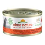 Almo Nature HFC 70 Kat Natural Kip - Pompoen  70 gr