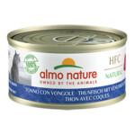 Almo Nature HFC 70 Kat Natural Tonijn - Mosselen  70 gr