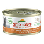 Almo Nature HFC 70 Kat Natural Kip - Kaas