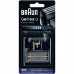 Braun Scheerkop 30B Series 3 Folie en Messenblok Zwart