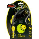 Flexi Rollijn Cord Neon Geel