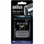 Braun Scheerkop 31S Series 3 Folie en Messenblok Zilver