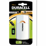 Duracell Mobiele Oplader 3 uur Wit