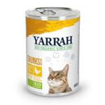 Yarrah Bio Brokjes In Saus Kattenvoer Kip  405 gr
