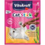 Vitakraft Cat-stick Mini Kip - Kattengras  3 stuks
