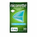 Nicorette Kauwgom Menthol Mint 2mg