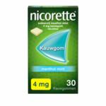 Nicorette Kauwgom Menthol Mint 4mg