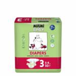 Muumi baby Ecologische Luiers Maat 3 Midi 5-8 kg