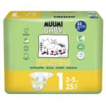 Muumi baby Ecologische Luiers Maat 1 Newborn 2-5 kg