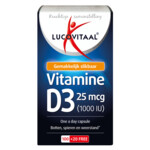 Lucovitaal Vitamine D3 25mcg  120 capsules