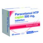 Healthypharm Paracetamol 500 mg Caplet  50 tabletten