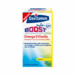Davitamon Multi Boost 12+ Omega-3 Visolie Citrus