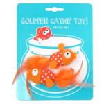 Happy Meow Catnip Speelgoed Goudvis