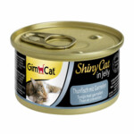 GimCat Shinycat in Jelly Tonijn - Garnalen