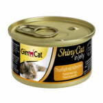 GimCat ShinyCat in Jelly Tonijn - Kip