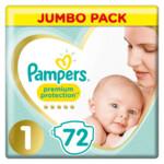 Pampers Premium Protection Luiers Maat 1 (2-5 kg)