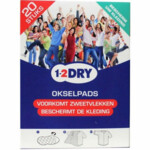 1-2Dry Okselpads Large