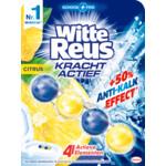 10x Witte Reus Toiletblok Kracht Actief Citrus