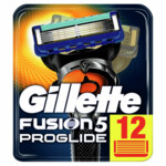 Gillette Fusion 5 ProGlide Manual Scheermesjes  12 stuks