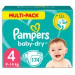 Pampers Baby Dry Luiers Maat 4 (9-14 kg)