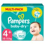 Pampers Baby Dry Luiers Maat 4+ (10-15 kg)