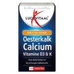 Lucovitaal Oesterkalk Calcium Vitamine D3 & K  100 tabletten