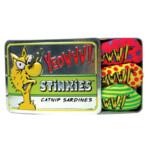 Yeowww Stinkies Catnip Sardientjes in Blik