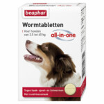 Beaphar Wormtablet All-in-one Hond 2,5 - 40 kg