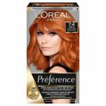 L'Oréal Preference Haarkleuring 7.4 Intens Koperrood