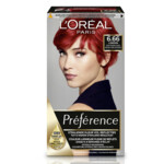 L'Oréal Preference Haarkleuring  6.66  Pure Scarlet - Zeer Intens Rood