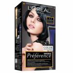 L'Oréal Preference Haarkleuring  1.1 Manhattan - Intens IJzig Zwart