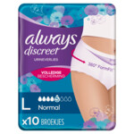Always Discreet Underwear Normal L