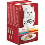 Gourmet Mon Petit Duo Vis-Vlees  6 x 50 gr