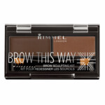 Rimmel Brow This Way Eyebrow Kit Bruin