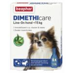 Beaphar DImetHIcare Line-On Hond 0 - 15 kg  6 pipetten