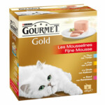 6x Gourmet Gold Fijne Mousse Rood